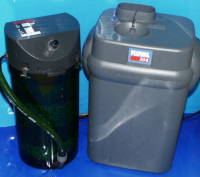 Picture of external canister filters